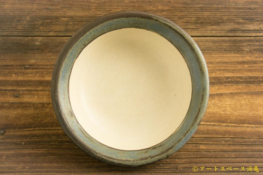 画像3: 八木橋昇 「耐熱青白 リム小鉢」