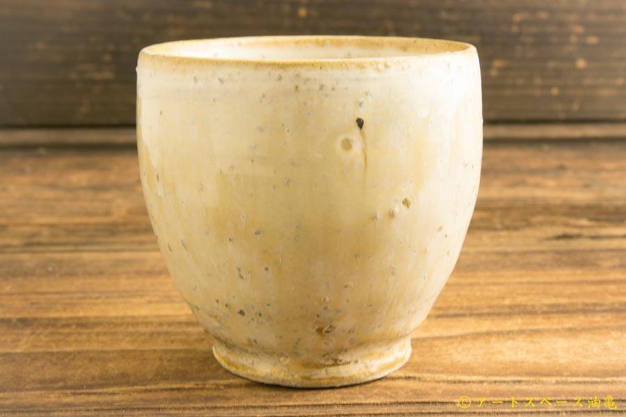 画像1: 八木橋昇「黄化粧 荒土丸カップ長」