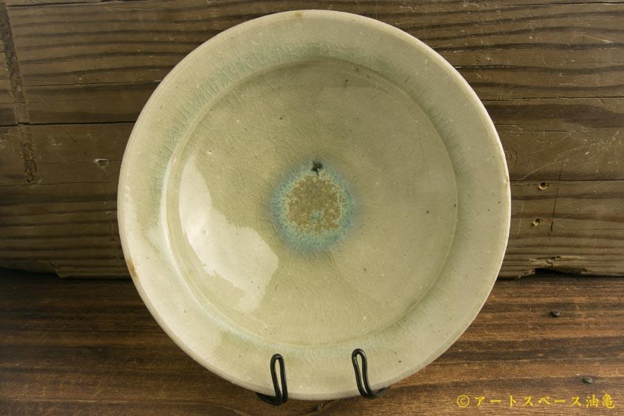 画像1: 八木橋昇「灰ビードロ リム鉢5寸」
