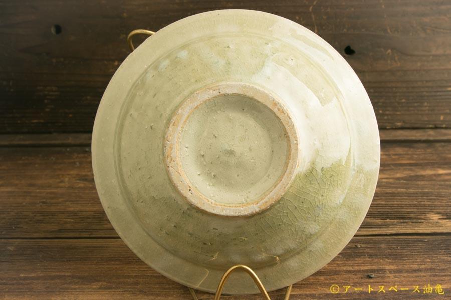 画像4: 八木橋昇「灰ビードロ リム鉢6寸」〈一品作〉