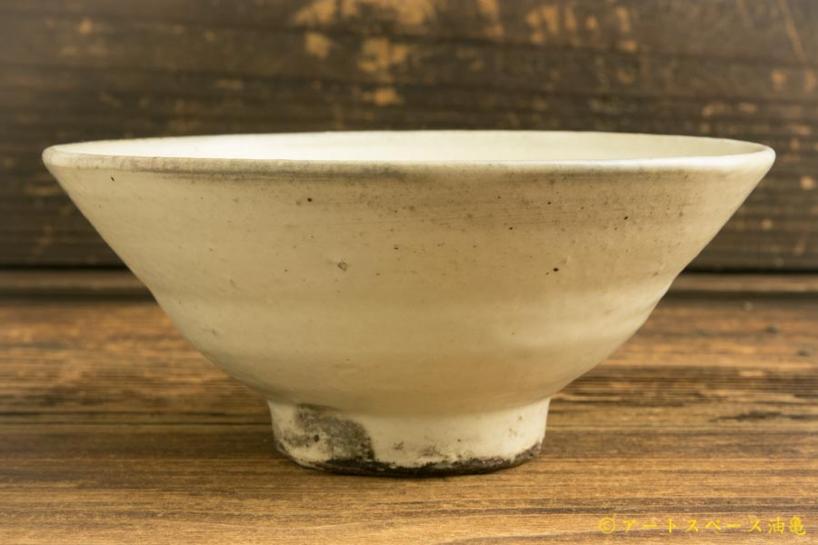 画像1: 八木橋昇「粉引き 茶漬け碗」