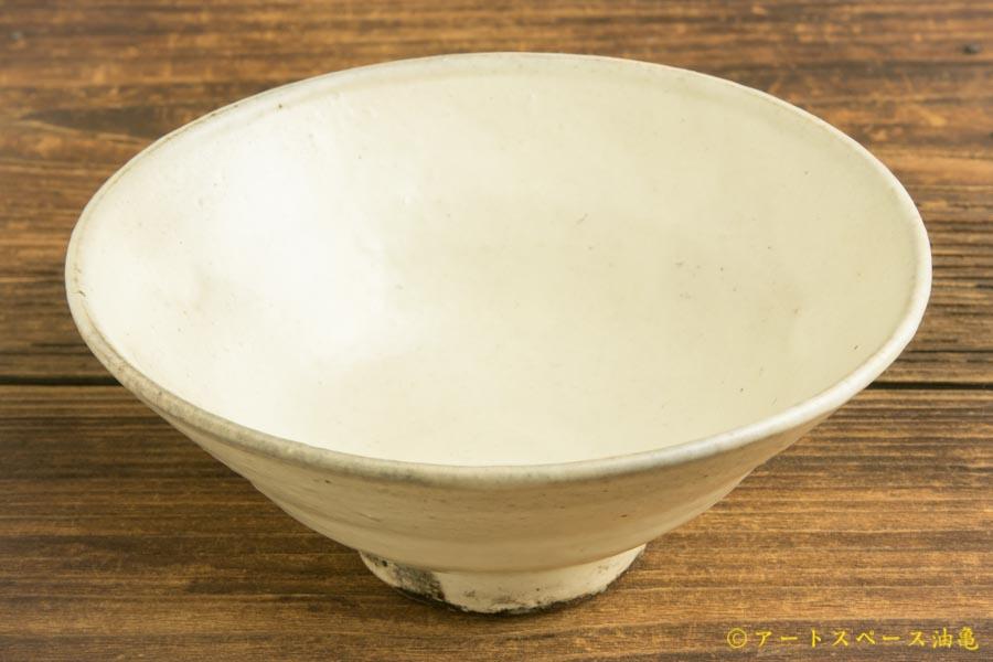 画像2: 八木橋昇「粉引き 茶漬け碗」