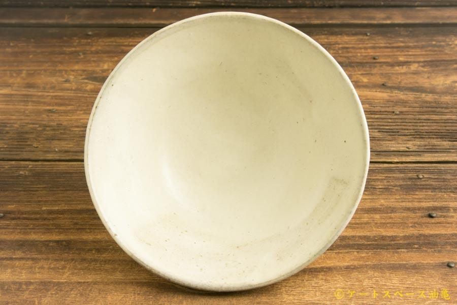 画像3: 八木橋昇「粉引き 茶漬け碗」