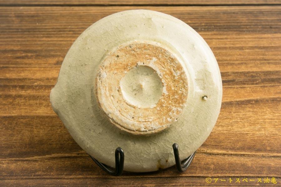 画像4: 八木橋昇 「灰ビードロ 片口豆皿」