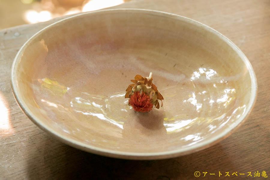 画像3: 八木橋昇 黄化粧 7寸浅鉢