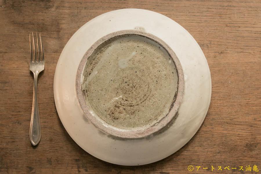 画像4: 八木橋昇 粉引マット玉縁8寸浅鉢