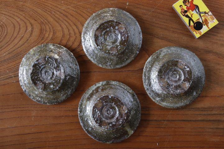 画像3: 山本泰三「信古黄灰彩豆皿」