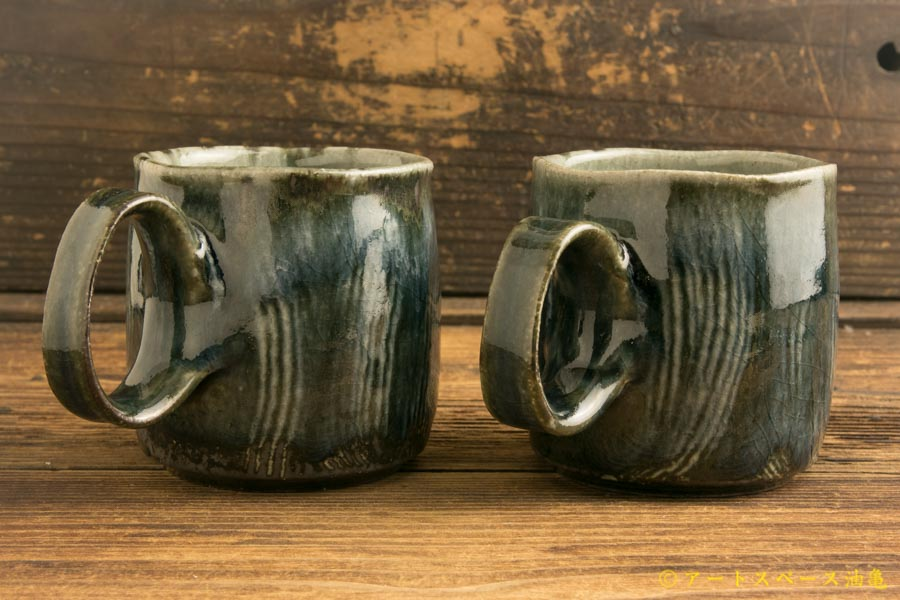 画像2: 山本泰三「灰青文マグカップ」