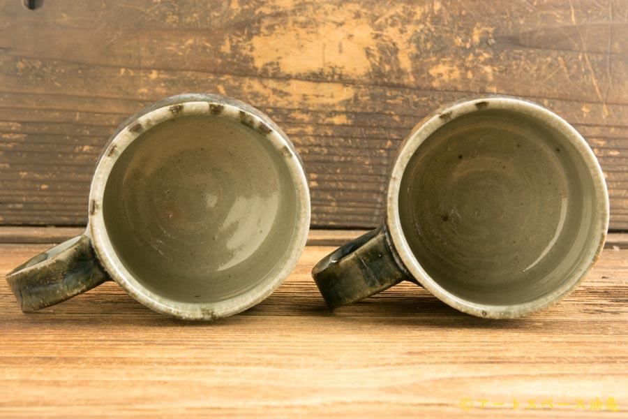 画像4: 山本泰三「灰青文マグカップ」