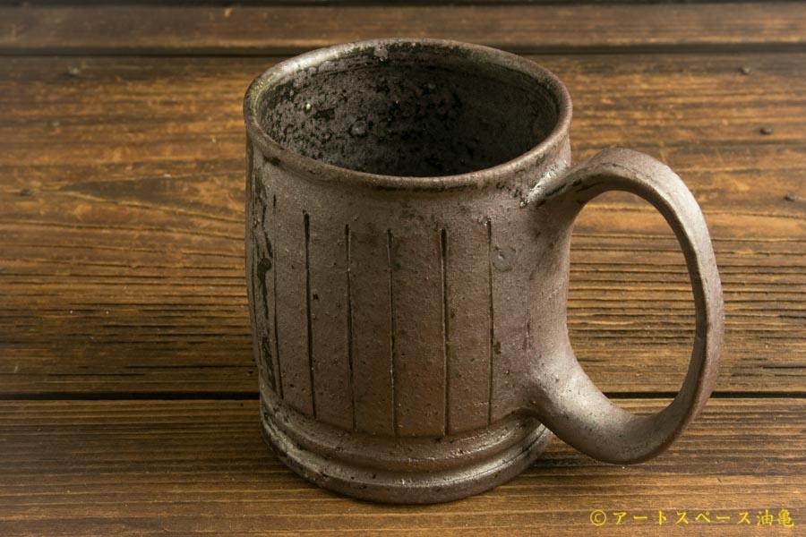 画像4: 山本泰三「野鉄釉線文 マグカップ」