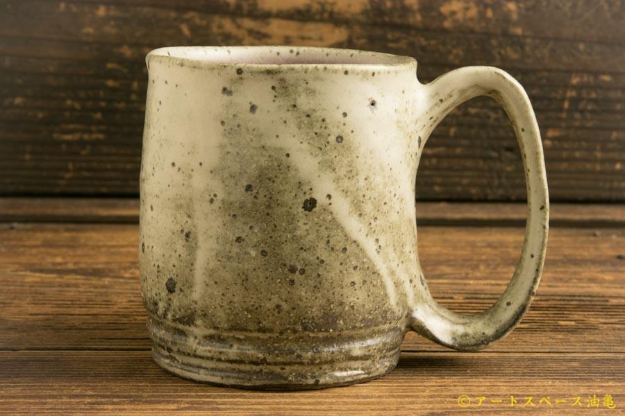 画像1: 山本泰三「野粉白紅変マグカップ」