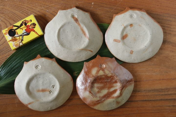 画像2: 山村 富貴子「備前 purr purr豆皿」