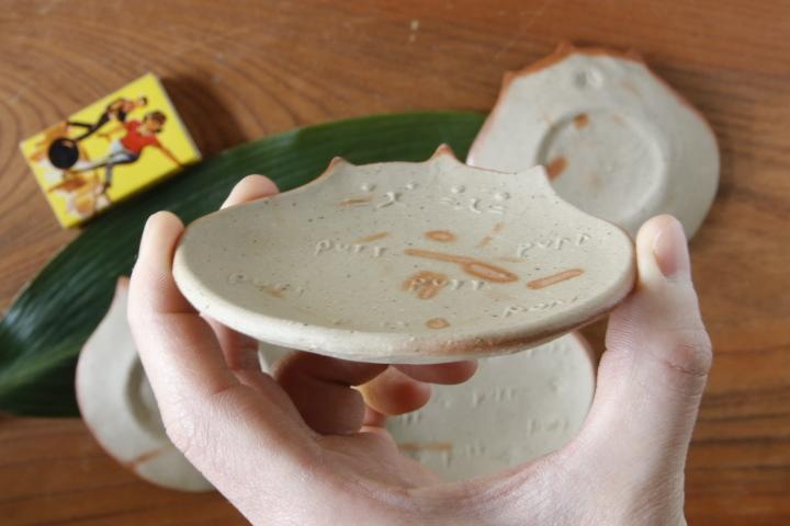 画像3: 山村 富貴子「備前 purr purr豆皿」
