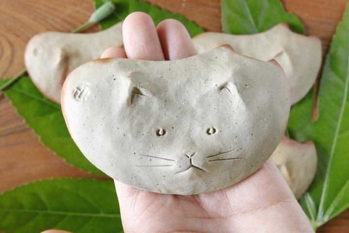 画像5: 山村 富貴子「備前 豆猫」