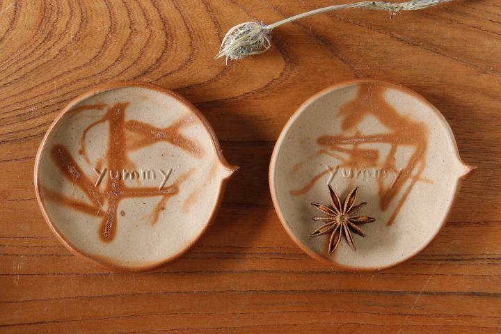 画像1: 山村 富貴子「備前 yummy豆皿」