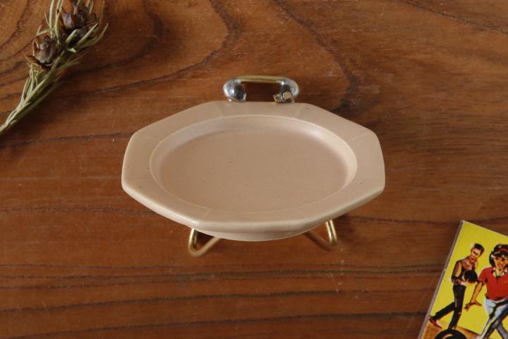 画像3: 山下 透「八角皿9cm(ピンクグレー)」