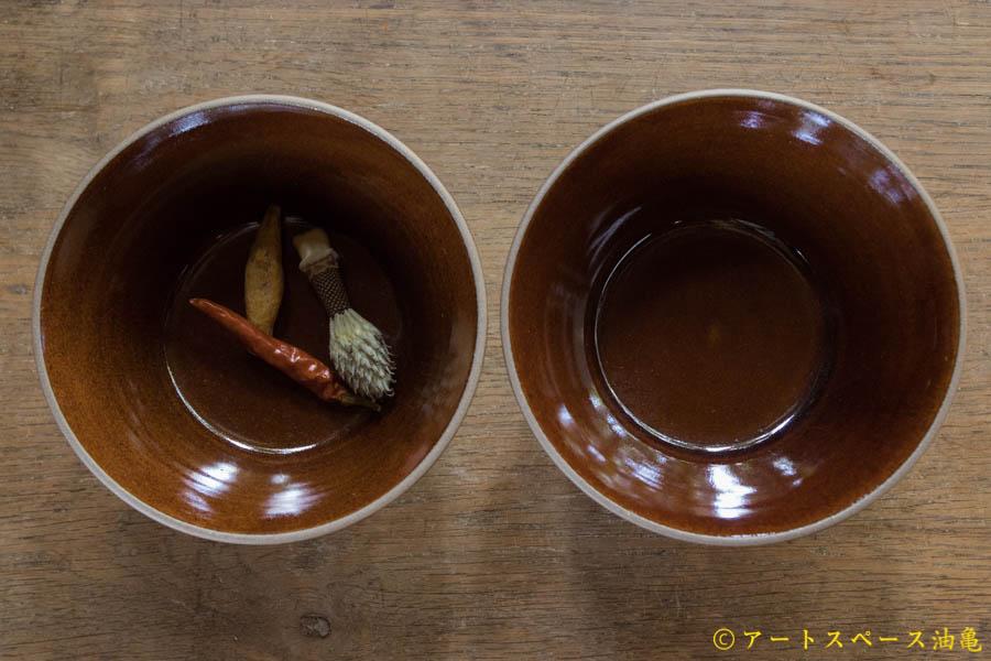 画像3: 山下透 碗(飴・茶色)【アソート作品】