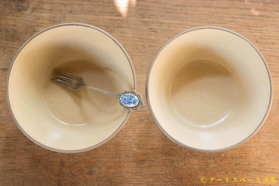 画像3: 山下 透 碗(ライムギ・ベージュ)【アソート作品】