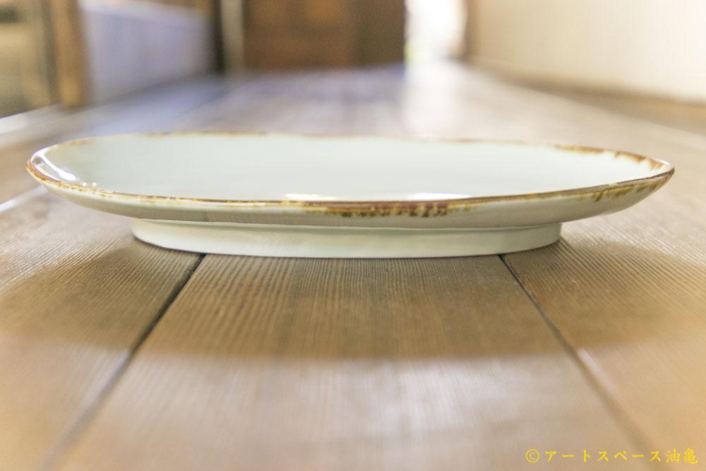 画像2: 柳川謙治「青磁印度カレー皿」
