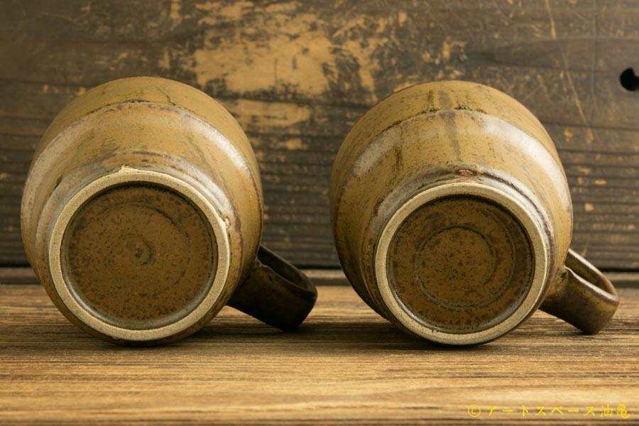 画像5: 柳川謙治「茶マット釉スタッキングマグ」