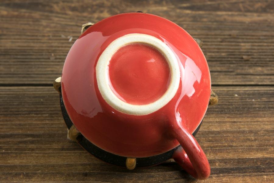 画像4: 柳忠義「赤黒金 マグカップ」