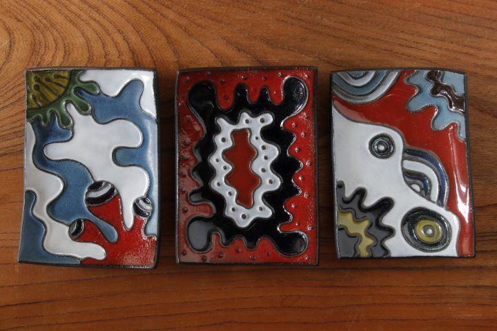 画像1: 柳忠義 カラフル小皿