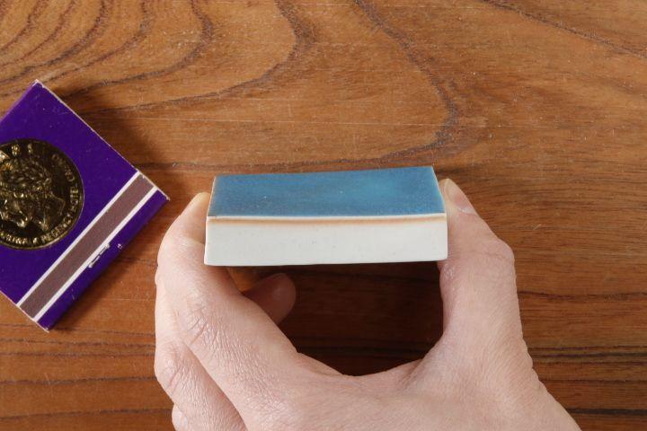 画像2: 柳忠義「半磁 板皿(小)」
