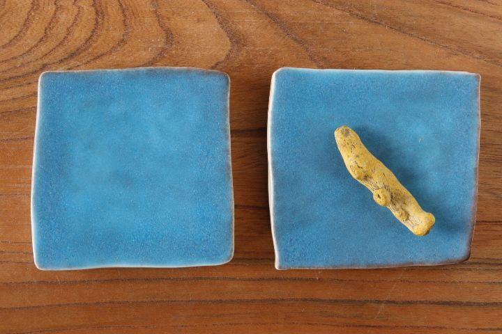 画像1: 柳忠義「半磁 板皿」【アソート商品】