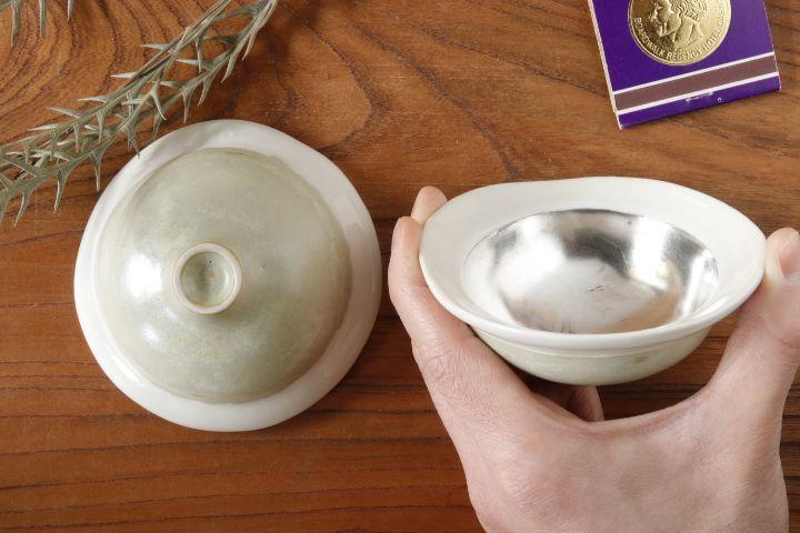 画像1: 柳忠義「酸化銀 豆鉢」【アソート商品】