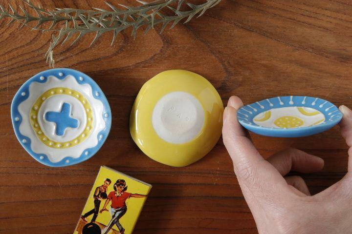 画像2: 柳忠義「丸イッチンカラフル 豆皿」