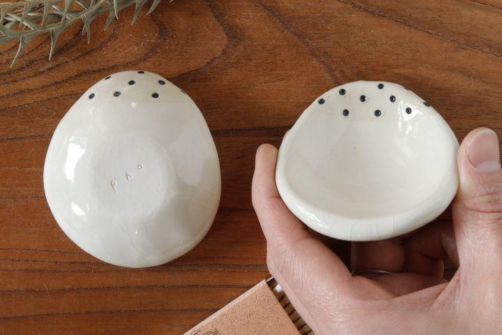 画像3: 柳忠義「白 豆皿」【アソート作品】