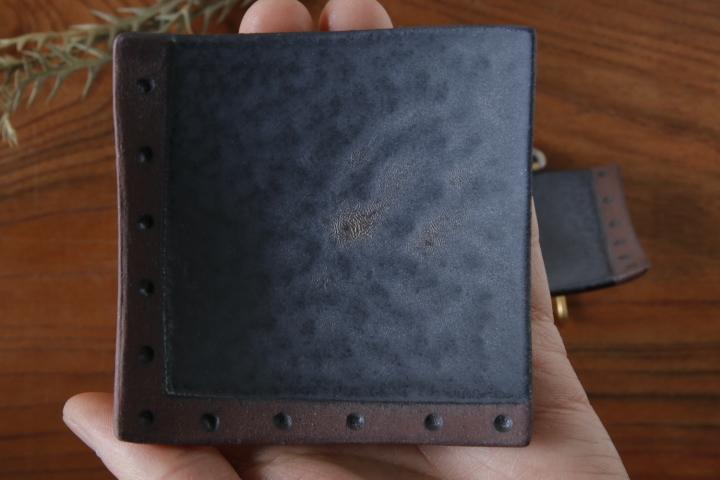 画像3: 柳忠義「黒・茶 豆皿」