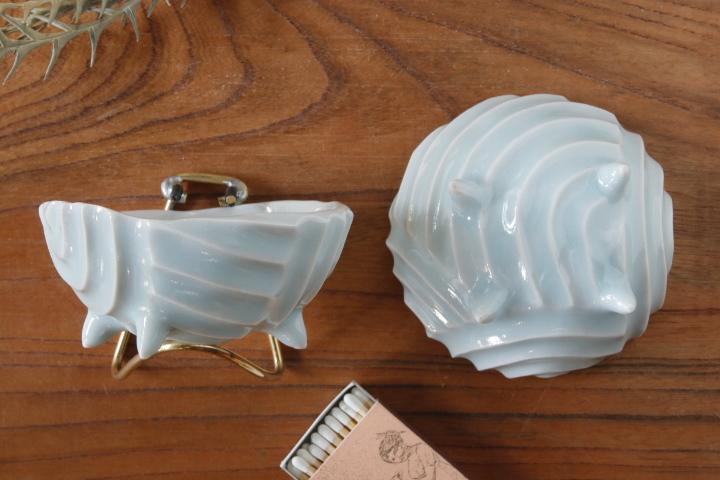画像2: 柳忠義「ほりこみ青白磁 豆鉢」