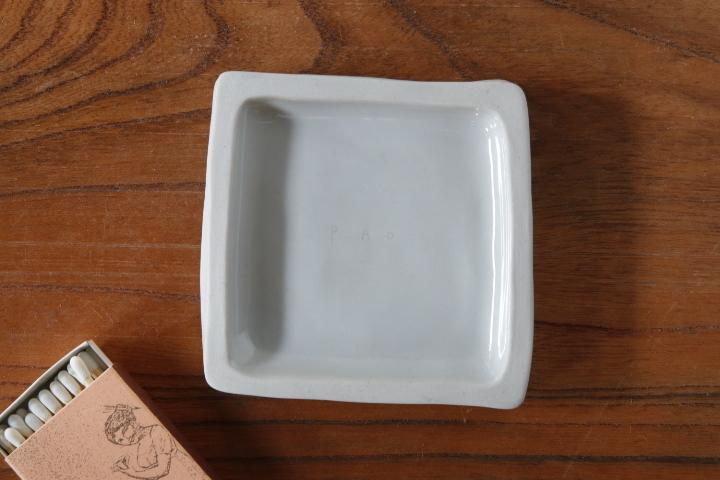 画像2: 柳忠義「半磁 板皿」