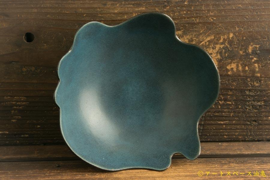 画像1: 柳忠義「トルコブルー カレー鉢」