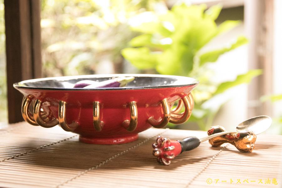 画像1: 柳忠義 エクスペリメント【3点セット】鉢、スプーン、スプーンレスト