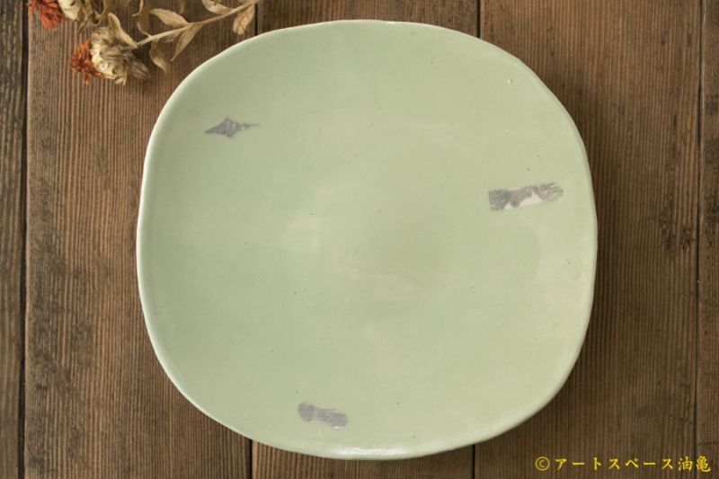 画像1: 矢尾板克則 色絵皿