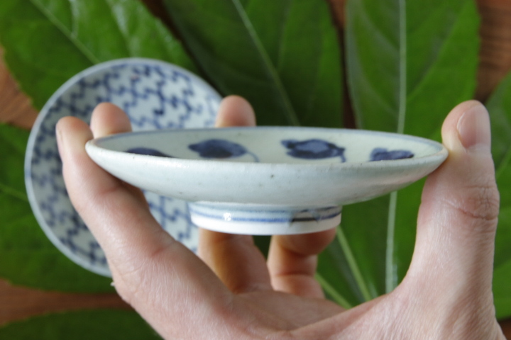 画像3: 吉田崇昭「染付 絵替わり小皿」