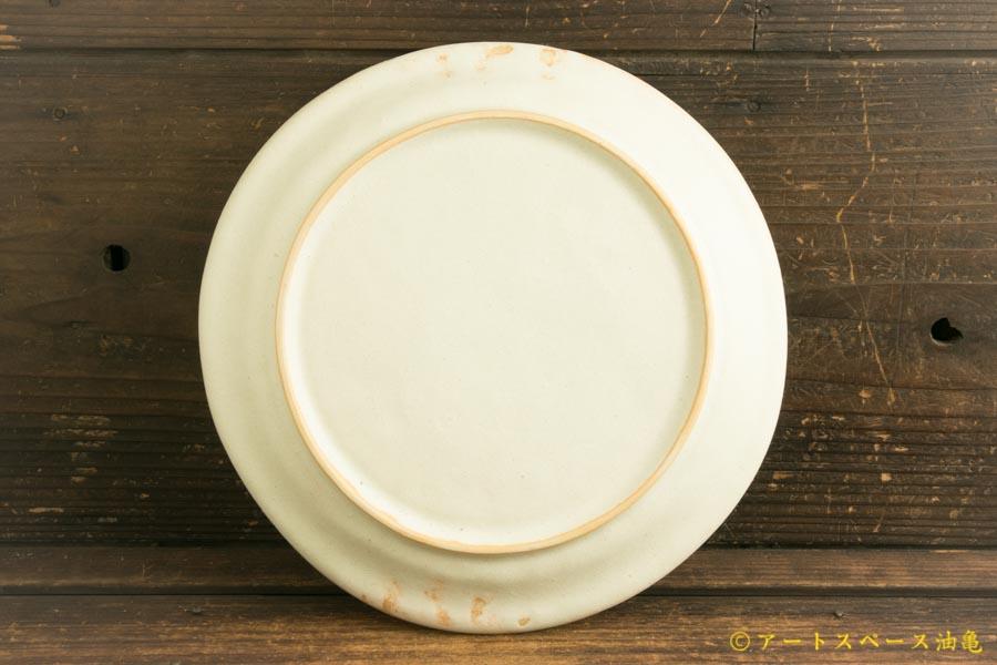 画像4: ヨシノヒトシ「淡緑瓷カレーリム皿」