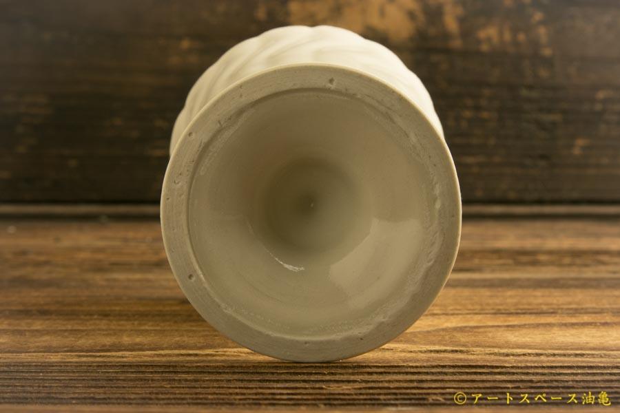画像4: ヨシノヒトシ「白瓷ゴブレット」