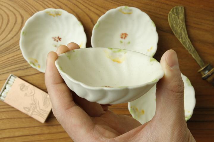 画像3: ヨシノヒトシ「色絵捻豆鉢」【アソート作品】