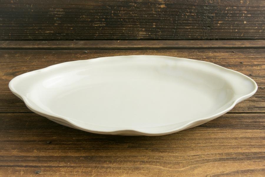 画像2: ヨシノヒトシ「白瓷カレーオーバル皿」