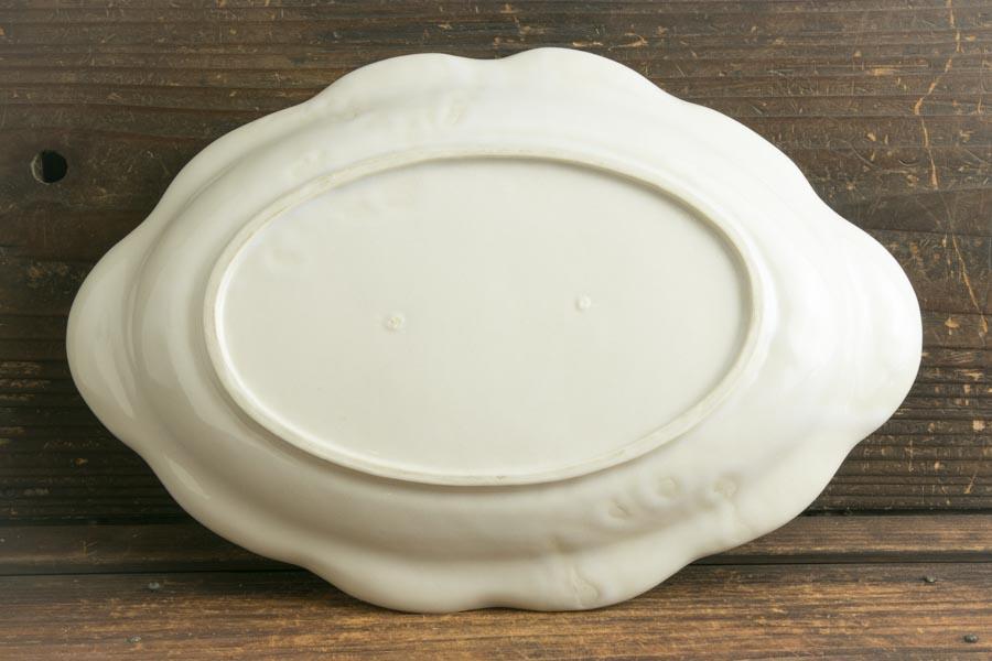 画像4: ヨシノヒトシ「白瓷カレーオーバル皿」