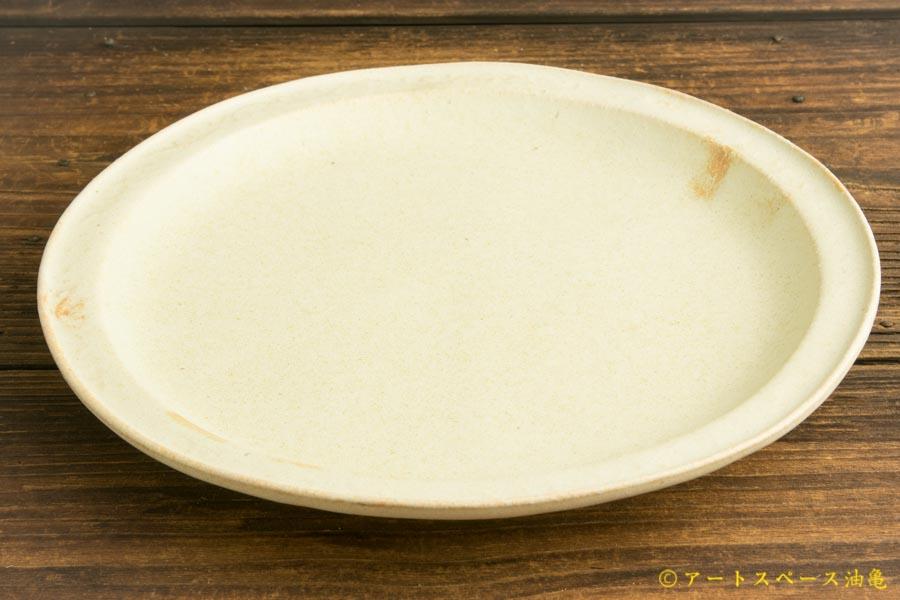 画像3: ヨシノヒトシ「淡緑瓷カレーリム皿」