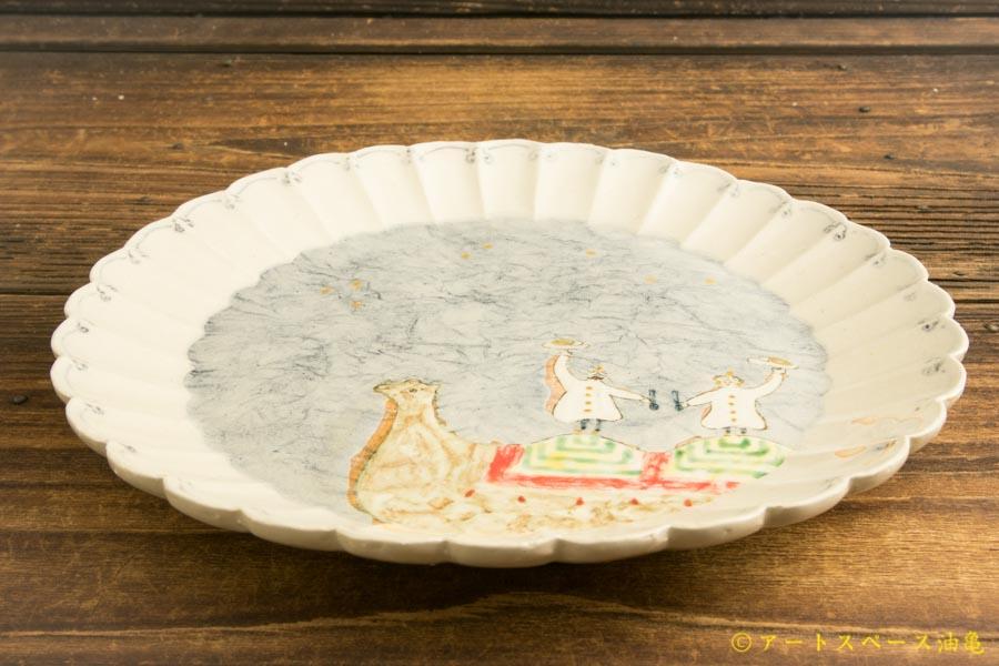 画像2: よしのちはる「夜空のインドカレー皿」