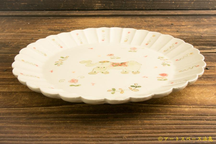 画像2: よしのちはる「インド象カレー皿」