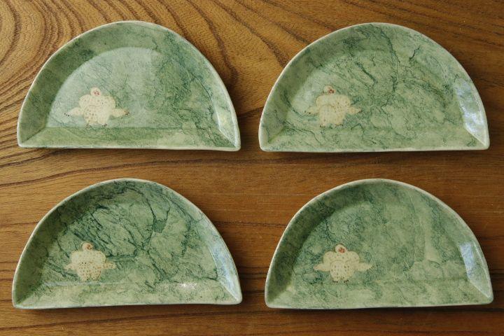 画像1: よしのちはる「猿 山型皿」
