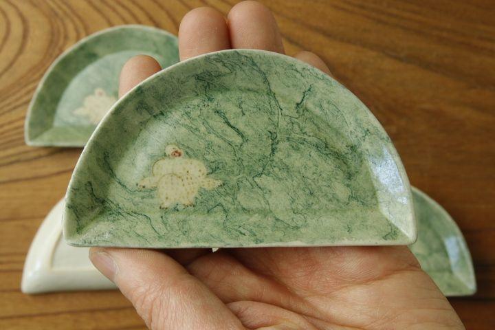 画像2: よしのちはる「猿 山型皿」