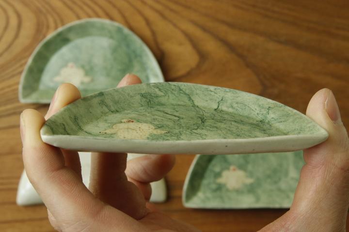 画像4: よしのちはる「猿 山型皿」