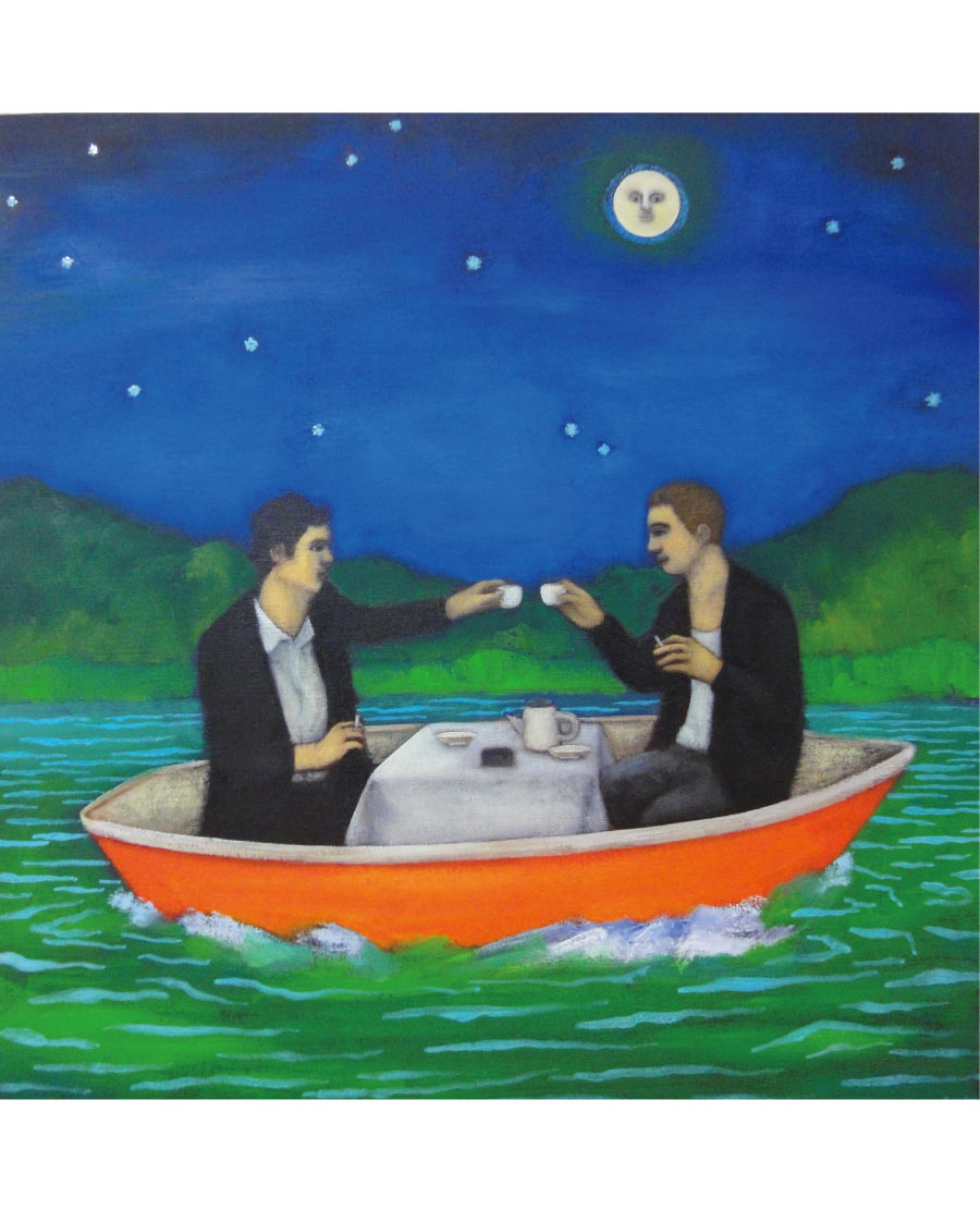 画像1: 吉行鮎子「月の光の下で乾杯する」